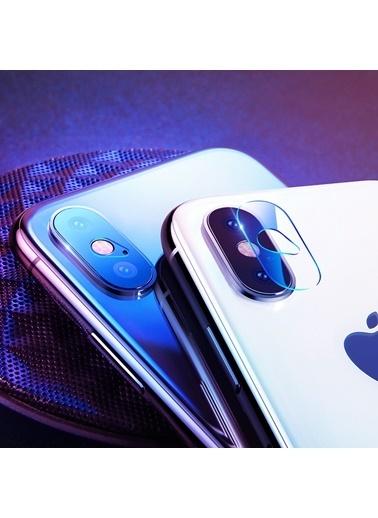 Microsonic iPhone X Kamera Lens Koruma Camı Renksiz